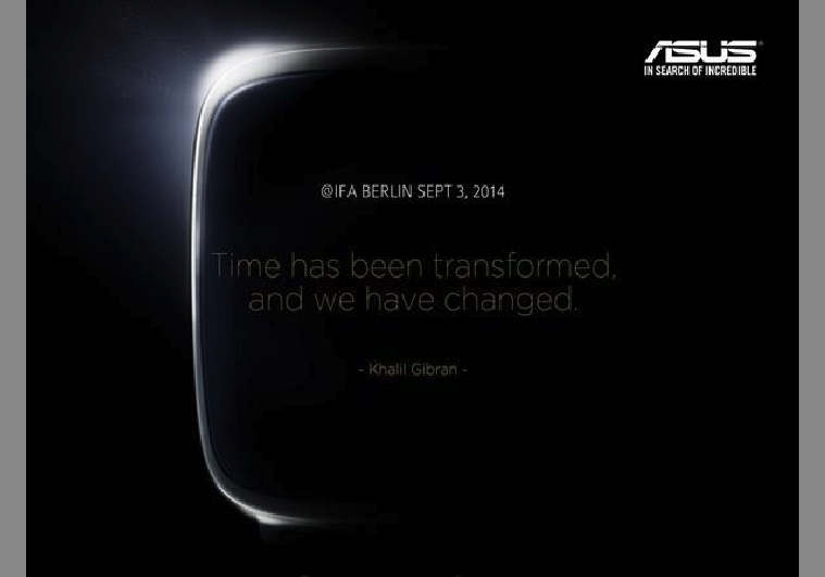 Asus smartwatch teased on Twitter, coming on September 3 ...