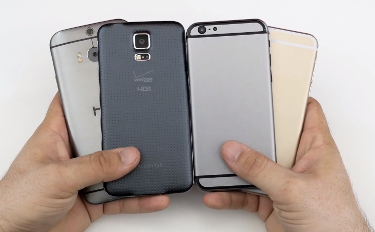 This in depth video compares iPhone 6 with some high end ...